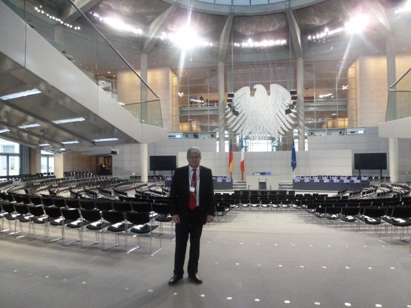 L'hémicycle du Reichstag