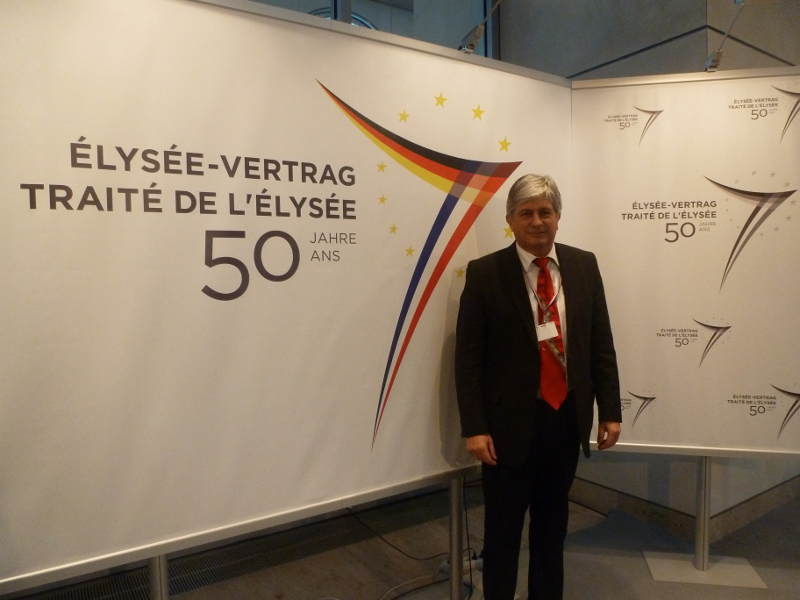 Hervé FERON dans le Bundestag