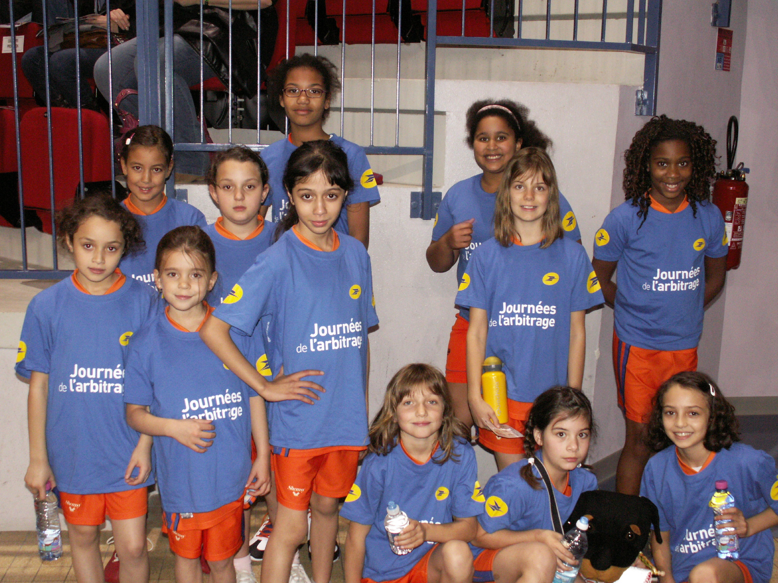 Les u11 de l'asptt nancy-tomblaine basket